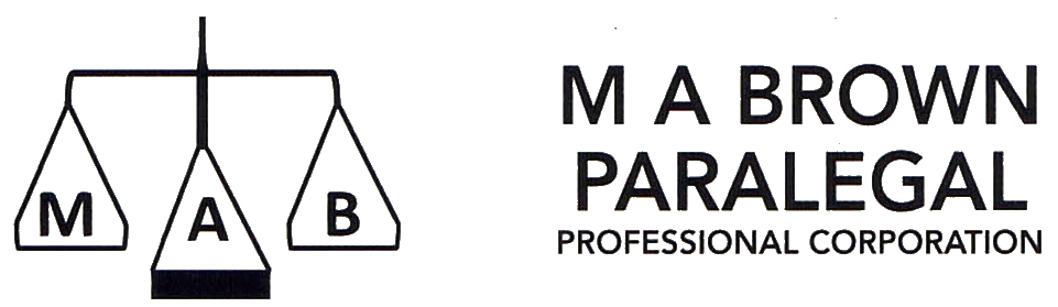M A Brown Paralegal